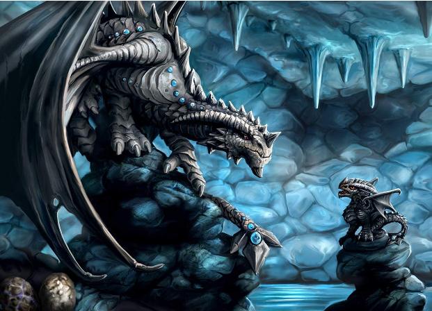 Rock Dragon 3d Jigsaw Puzzle