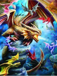 Dragon Clan Jigsaw Puzzle