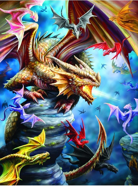 Dragon Clan Jigsaw Puzzle