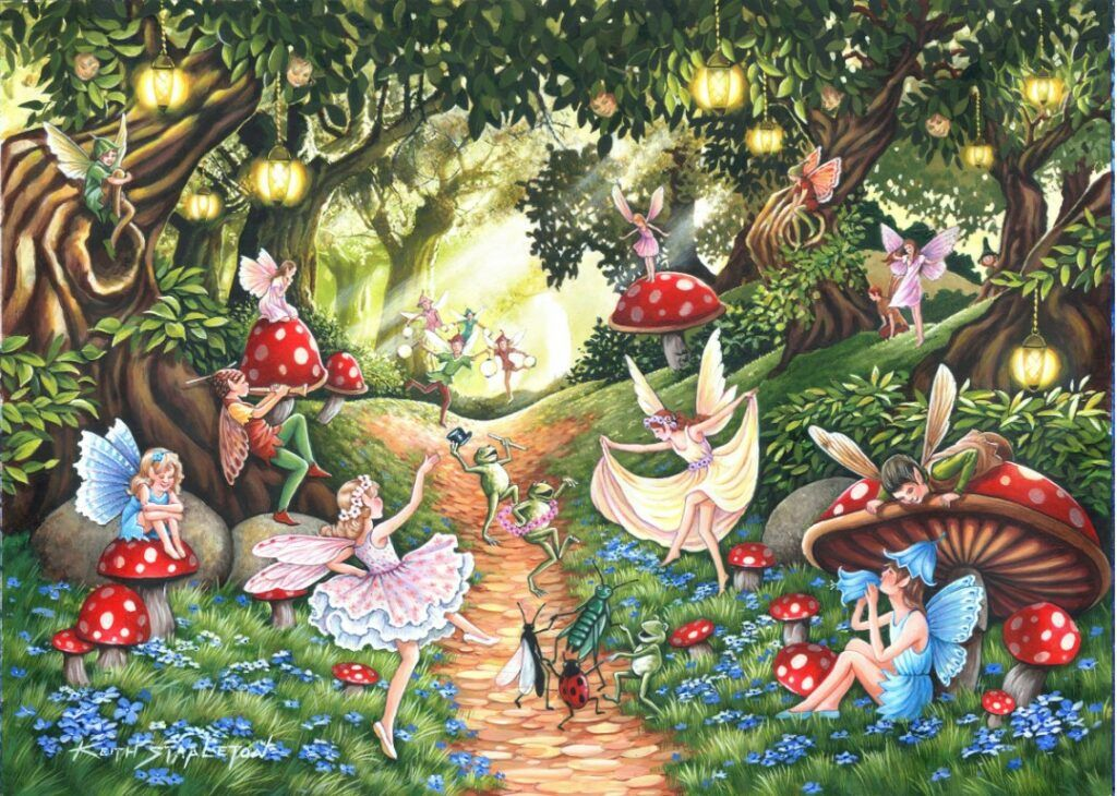 Faery Dell Jigsaw Puzzle 500 pieces
