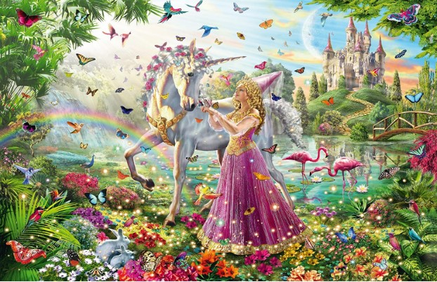 Schmidt Fairy in the Enchanted Forest Jigsaw Puzzle