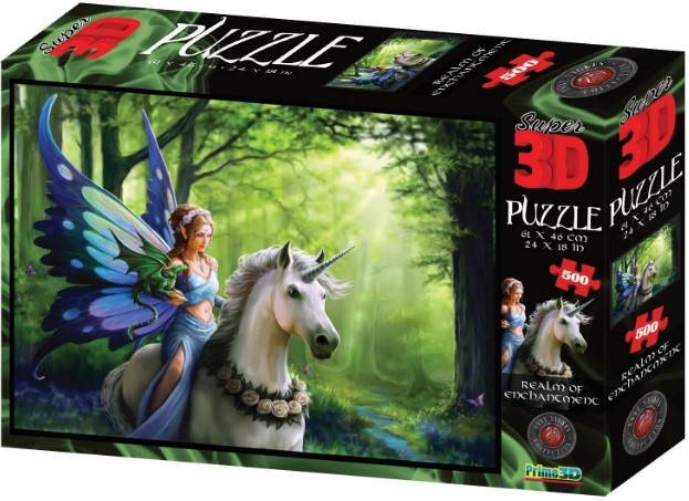 Realm of Enchantment Jigsaw Puzzle