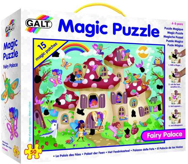 Fairy Palace Magic Jigsaw Puzzle