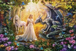 Dragon Princess Jigsaw Puzzle