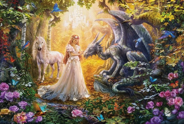 Dragon Princess Jigsaw Puzzle