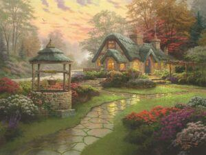 Make A Wish Cottage Jigsaw Puzzle