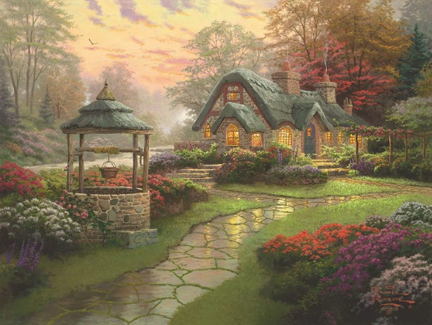 Make A Wish Cottage Jigsaw Puzzle