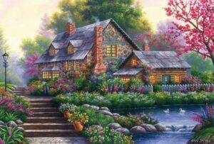 Romantic Cottage Puzzle