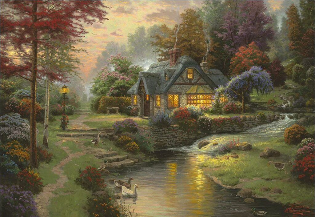 Peaceful Evening Jigsaw Puzzle 1000 PCS