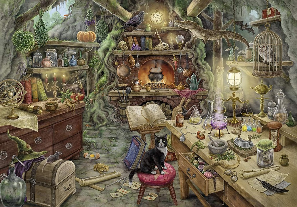 Ravensburgers Escape The Witches Kitchen Puzzle 759 PCS