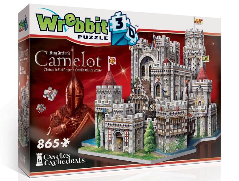 King Arthur's Camelot 3D Puzzle
