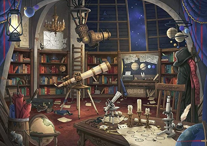 Escape The Space Observatory Room Puzzle 759 PCS