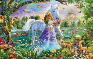 Schmidt Princess and Unicorn Puzzle 150 Pieces