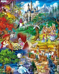 Grimms Fairy Tales Puzzle 33 PCS