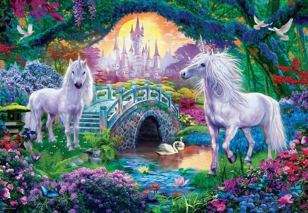Unicorn Fairy Land Jigsaw Puzzle 500 PCS