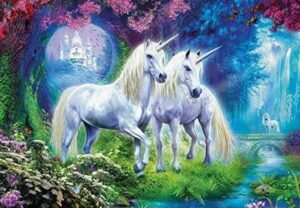 Unicorns In The Forest Jigsaw Puzzle 500 PCS