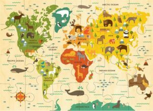 Petit Collage Our World Floor Jigsaw Puzzle 24 PCS