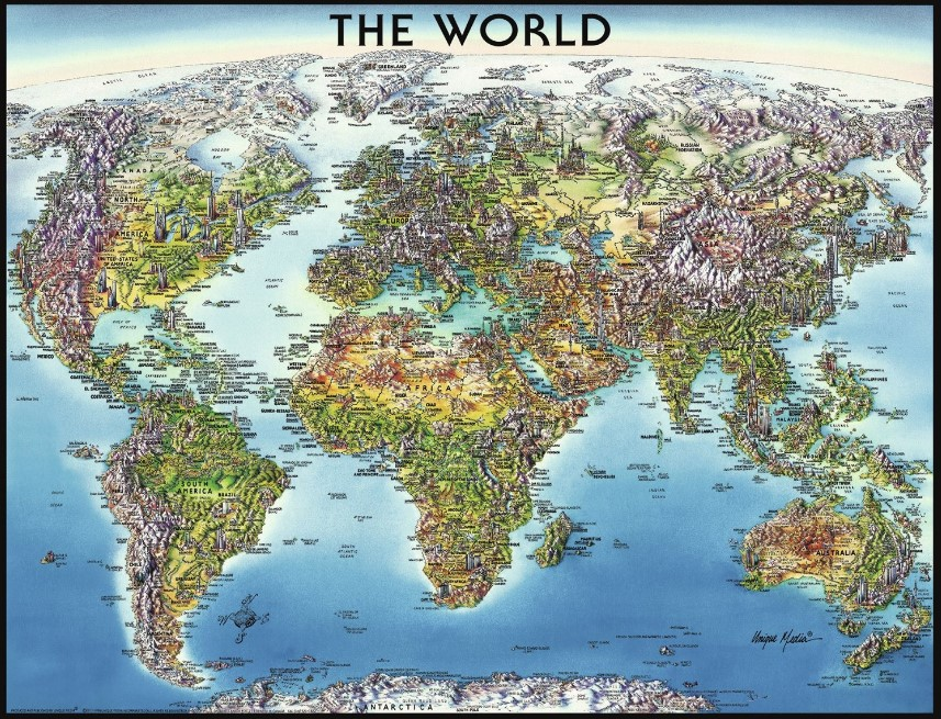 Ravensburger The World Jigsaw Puzzle 2000 PCS