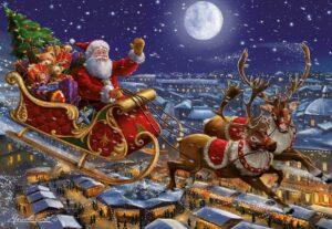 Santa's Sleigh Jigsaw Puzzle
