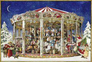 Christmas Carousel Jigsaw Puzzle 1000 PCS