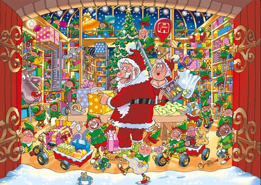 Wasgij Santa's Unexpected Delivery Puzzle