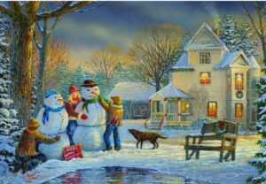 Snow Creations Jigsaw Puzzle