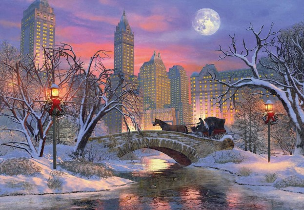 Christmas Eve in New York Puzzle