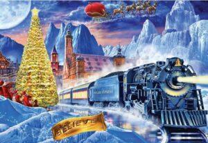 Polar Express Jigsaw Puzzle