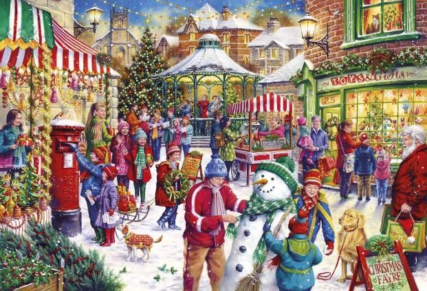 Secret Santa Jigsaw Puzzle