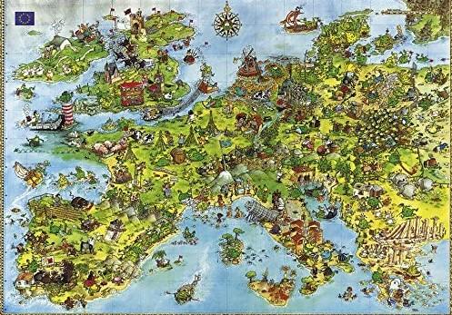 Heye United Dragons of Europe 4000 PCS