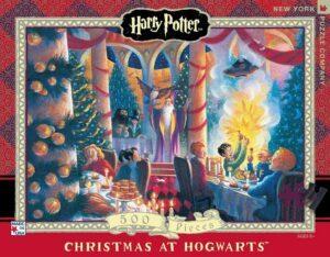 New York Puzzle Company Harry Potter Christmas At Hogwarts Jigsaw Puzzle 500 PCS