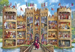 Gibsons Castle Cutaway Jigsaw Puzzle 1000 PCS