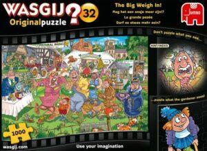 Wasgij Original 32 The Big Weigh in 1000 PCS