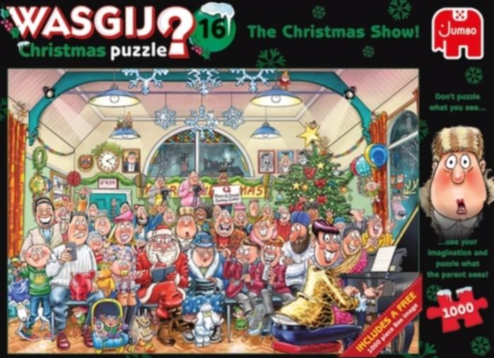 Wasgij Christmas Show Puzzle 1000 PCS