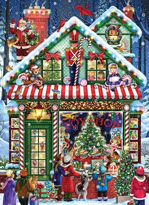 Vermont Christmas Company Toy Shop Puzzle 1000 PCS
