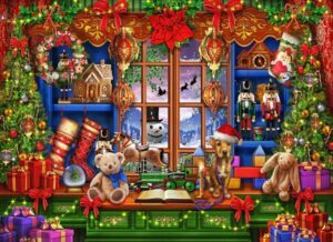 Vermont Christmas Company Ye Olde Christmas Shop Puzzle 1000 PCS