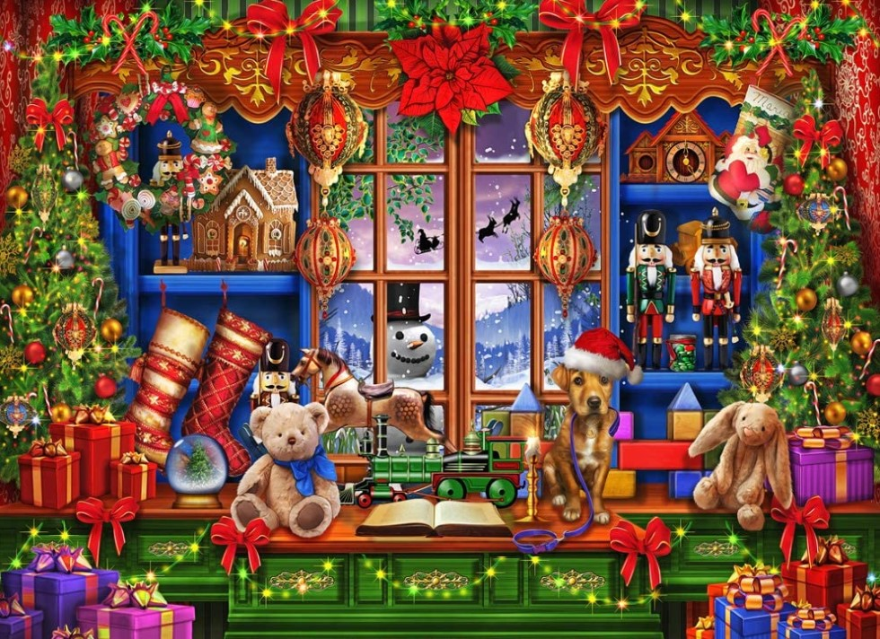Vermont Christmas Company Ye Olde Christmas Shop Puzzle 1000 PCS