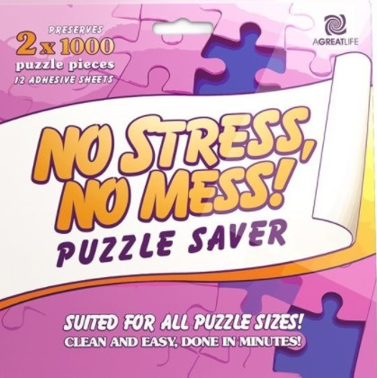 AGREATLIFE Puzzle Conserver Glue Sheets