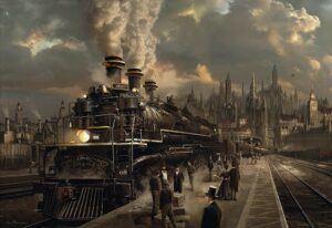Schmidt Locomotive Puzzle 1000 Pieces