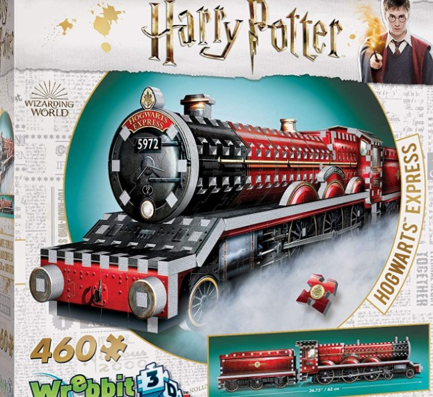 Wrebbit 3D Harry Potter Hogwarts Express Puzzle 460 PCS