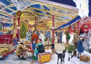 Falcon de Luxe Coming Home for Christmas Puzzle 1000 Pieces