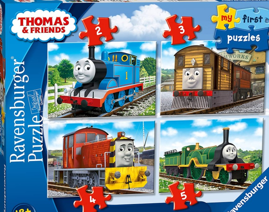 Ravensburger Thomas & Friends My First Jigsaw Puzzles 2, 3, 4 & 5 PCS