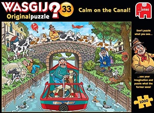 Wasgij Original 33 Calm on the Canal
