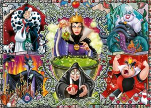 Ravensburger Disney Wicked Women Puzzle 1000 Pieces