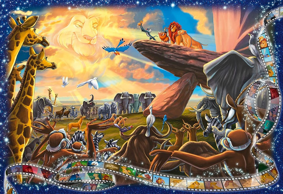 Ravensburger's Disney Collector's Edition Lion King Puzzle 1000 Pieces