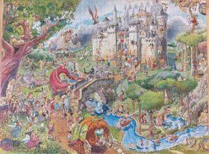 Heye Fairy Tales Puzzle 1500 Pieces