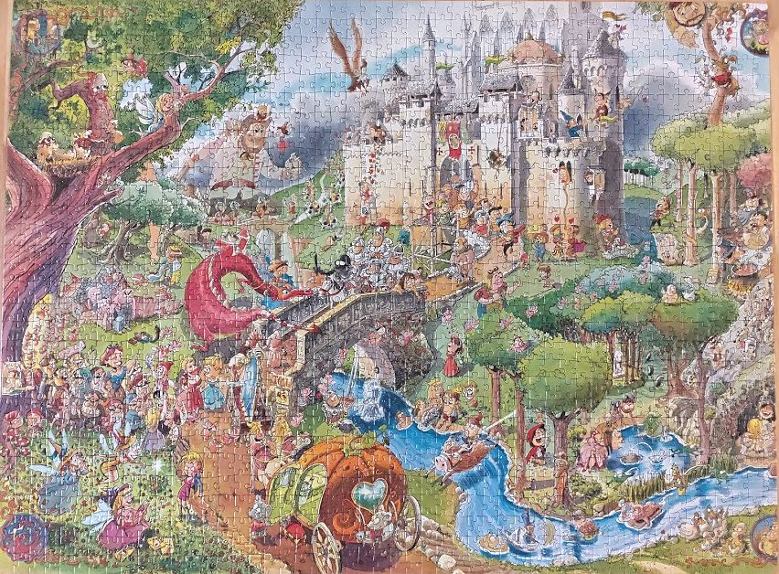 Heye Fairy Tales Puzzle 1500 Pieces