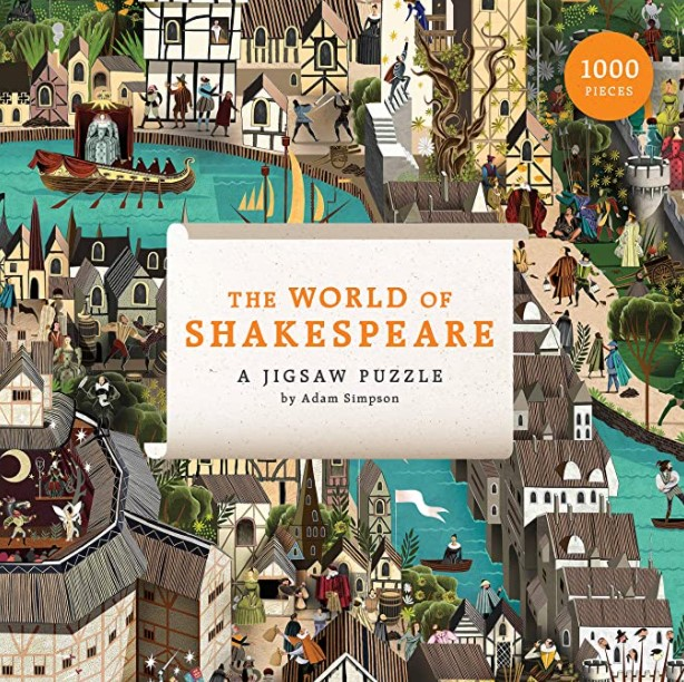 The World of Shakespeare Puzzle 1000 PCS