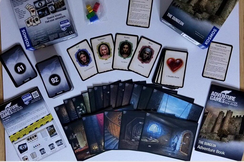 Escape Room Adventure Games by Thames and Kosmos - Escape The Dungeon