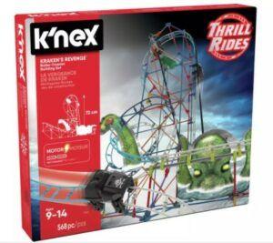K'NEX Kraken's Revenge Roller Coaster Building Set 568 PCS